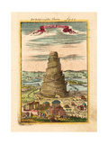 Tower of Babel, 1719 Giclee Print by Alain Manesson Mallet