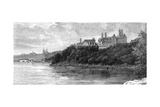 Parliament Building, Ottawa, Canada, 19th Century Giclee Print by  Taylor