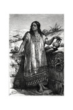 Toltec Girl, Mexico, 19th Century Giclee Print by Pierre Fritel