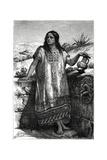 Toltec Girl, Mexico, 19th Century Giclee Print