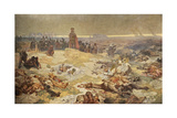 After the Battle of Grunwald. the Solidarity of the Northern Slavs (The Cycle the Slav Epi) Giclee Print by Alphonse Mucha