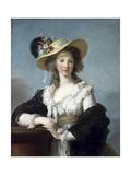 Yolande Martine Gabrielle De Polastron, Duchess of Polignac Giclee Print by Marie Louise Elisabeth Vigée-Lebrun