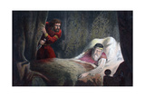 A Scene from 'Macbeth, C17th Century Giclee Print