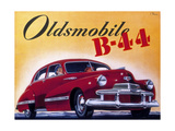 Poster Advertising an Oldsmobile B44, 1942 Giclee Print