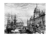 Dublin, Ireland, 19th Century Giclee Print by  Weber