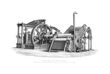 Sugar Mill and Steam Engine, 1866 Giclee Print