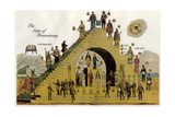 The Steps of Freemasonry Giclee Print