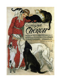 Clinique Chéron, 1905 Impression giclée par Théophile Alexandre Steinlen