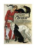 Clinique Chéron, 1905 Giclee Print by Théophile Alexandre Steinlen