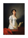 Portrait of the Italian Singer Angelika Catalani, Late 18th or Early 19th Century Giclee Print by Elisabeth Louise Vigee-LeBrun