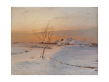 Winter Evening, 1895 Giclee Print by Nikolai Nikanorovich Dubovskoy