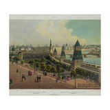 The Moscow Orphanage (From a Panoramic View of Moscow in 10 Part), Ca 1848 Giclee Print by Philippe Benoist