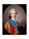 Louis-Auguste, Duc De Berry (1754-179), Future Louis XVI, King of France Giclée-Druck von Louis Michel Van Loo