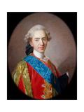 Louis-Auguste, Duc De Berry (1754-179), Future Louis XVI, King of France Giclée-Druck von Louis Michel Van Loo
