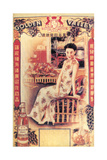 Shanghai Advertising Poster Advertising Brandy, C1930s Giclee Print