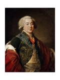 Portrait of the Vice-Chancellor Prince Alexander Kurakin, 1797 Giclee Print by Elisabeth Louise Vigee-LeBrun