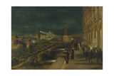 Illumination of Moscow on the Occasion of the Coronation of Emperor Alexander III Giclee Print