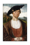 Portrait of Joost Van Bronkhorst Giclee Print by Jan Mostaert