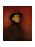 Portrait of King Alfonso XIII of Spain (Stud) Giclee Print by Ramon Casas