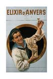 Elixir D'Anvers, 1906 Giclee Print by Gerard Portielje