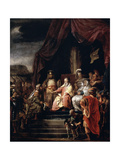 Moses and Jethro, C1655-C1656 Giclee Print by Ferdinand Bol