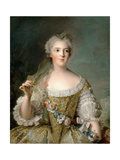 Princess Sophie of France (1734-178) Giclee Print by Jean-Marc Nattier
