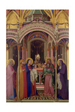 The Presentation in the Temple, 1342 Giclee Print by Ambrogio Lorenzetti