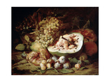 Fruits, 1670s Giclee Print by Abraham Brueghel