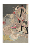 Pandora's Box, 1880S Giclee Print by Tsukioka Yoshitoshi