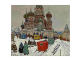 Saint Basil's Cathedral, 1939 Wydruk giclee