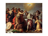 The Baptism of Christ, Late 16th or 17th Century Giclee Print by Alessandro Turchi