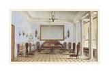 Salon Interior, 1858 Giclee Print by Andrei Alexeevich Redkovsky