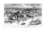 The City of Buffalo, 19th Century Giclee Print