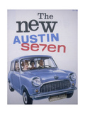 Poster Advertising Austin Cars, 1959 Giclee Print