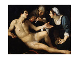 Saint Sebastian, Late 16th or Early 17th Century Giclee Print by Francesco Rustici