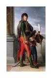 Portrait of Joachim Murat (1767-181) Giclee Print by François Pascal Simon Gérard
