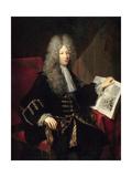 Jérôme Phélypeaux (1674-174), Comte De Pontchartrain Giclee Print by Robert Tournieres