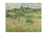 Pommiers À Éragny, 1894 Reproduction procédé giclée par Camille Pissarro