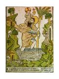 Saint Christopher, 1423 Giclee Print