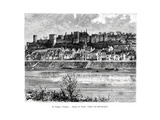 Chinon and the Vienne River, France, 19th Century Giclee Print by  Taylor