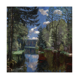 Forest Lake, 1934 Giclee Print by Stanislav Yulianovich Zhukovsky