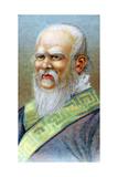 Confucius (551-479 B), Chinese Philosopher, C1920 Giclee Print