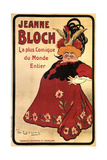 Jeanne Bloch, 1908 Giclee Print by Daniel de Losques