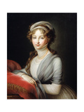 Portrait of Empress Elizabeth Alexeievna, C1795 Giclee Print by Elisabeth Louise Vigee-LeBrun
