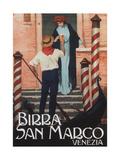 Beer San Marco, C. 1909 Giclee Print by Gian Emilio Malerba