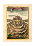 Fortress of Semiramis, 1719 Giclee Print by Alain Manesson Mallet