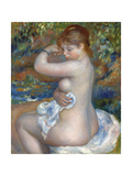 Baigneuse, 1888 Giclée-tryk af Pierre-Auguste Renoir