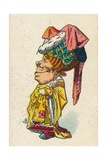 The Duchess Smiling, 1930 Giclee Print by John Tenniel
