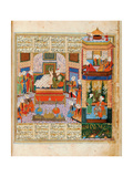 The Consummation of the Marriage Between Khusraw and Shirin Giclee Print