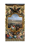 The Conquest of Cambrai on April 18, 1677 Giclee Print by Charles Le Brun